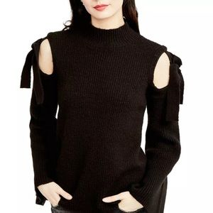 Rachel, Rachel Roy black top sweater size s